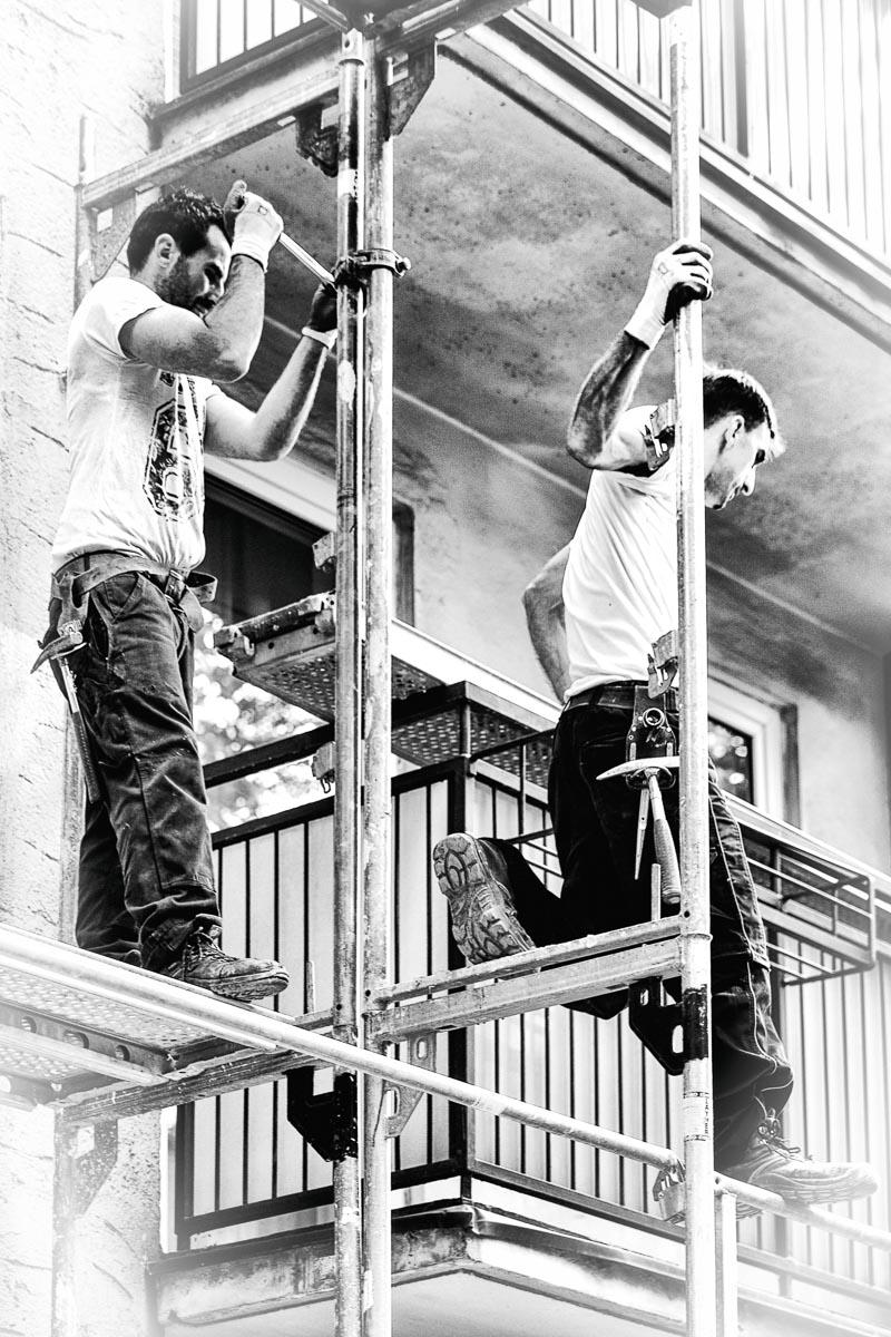 FINE ART | Men at work